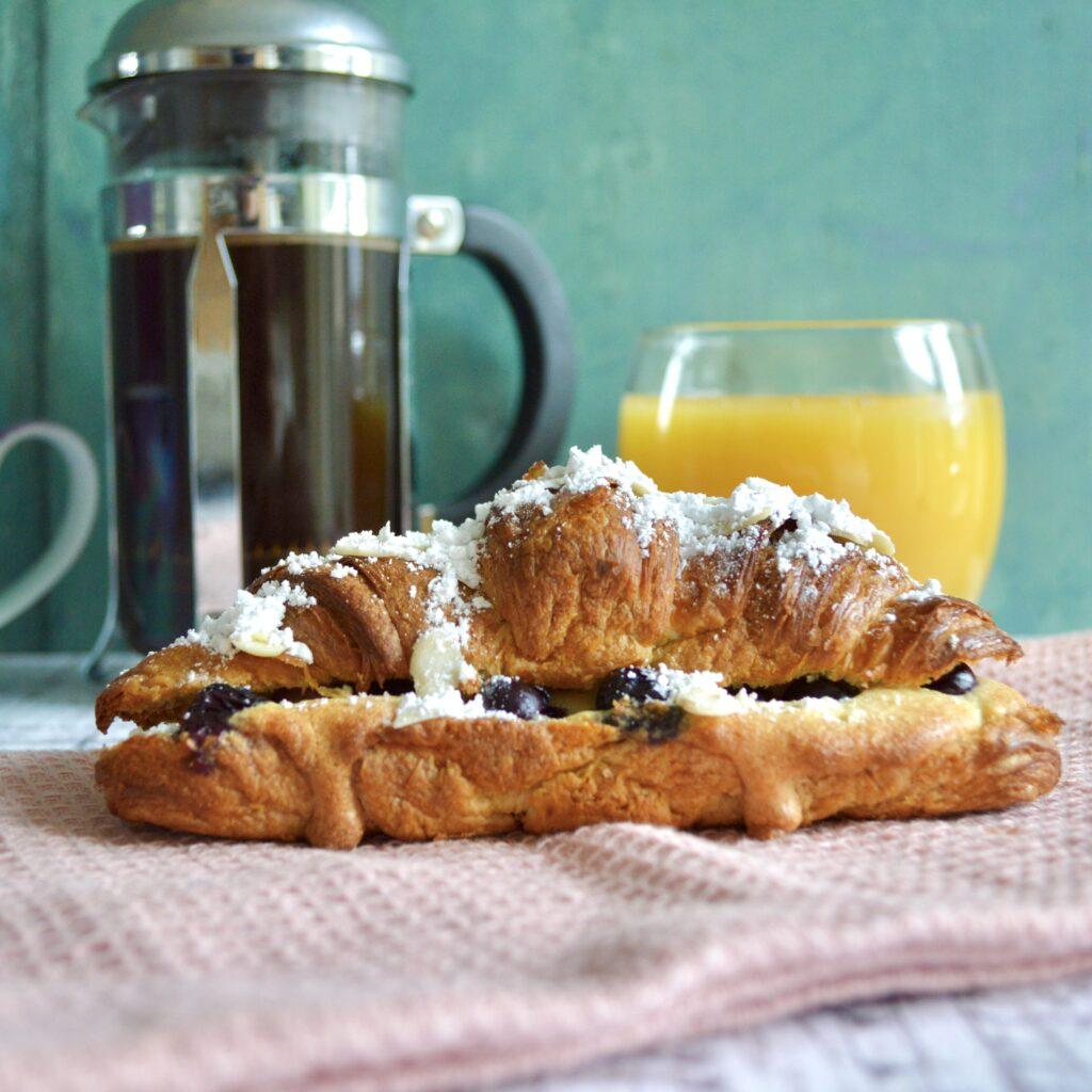 Almond Blueberry Croissant 1