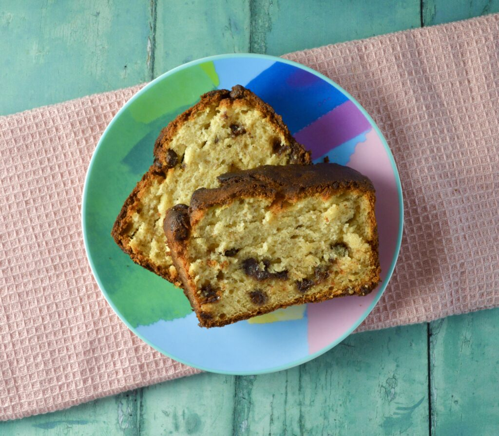 peanut butter banana bread 1