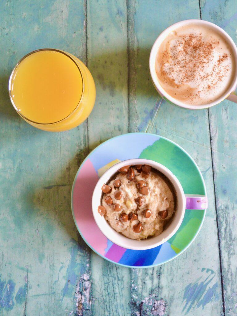 banana mug muffin