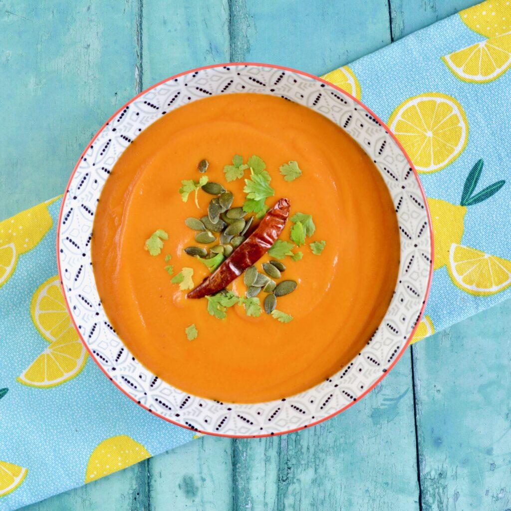 Red Thai Sweet Potato Soup